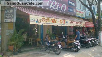 Sang quán cafe mặt tiền Trương Công Đinh, quận Tân Bình