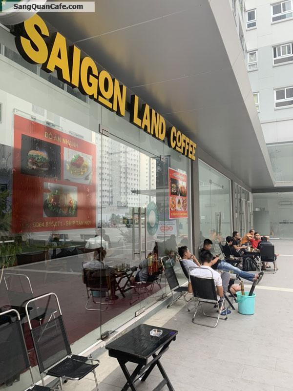 Sang quán Cafe máy lạnh - Đồ ăn vặt, Tầng trệt CC Prosper Plaza