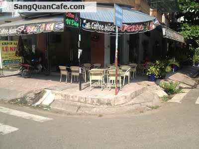 Sang Quán Cafe Máy Lạnh góc 2 mặt tiền