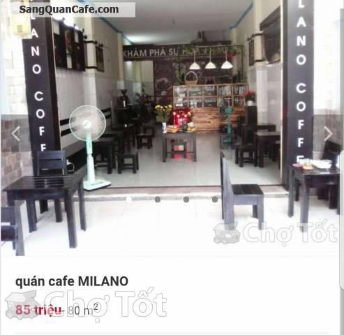 Sang quán cafe Milano giá rẻ Quận Tân Phú