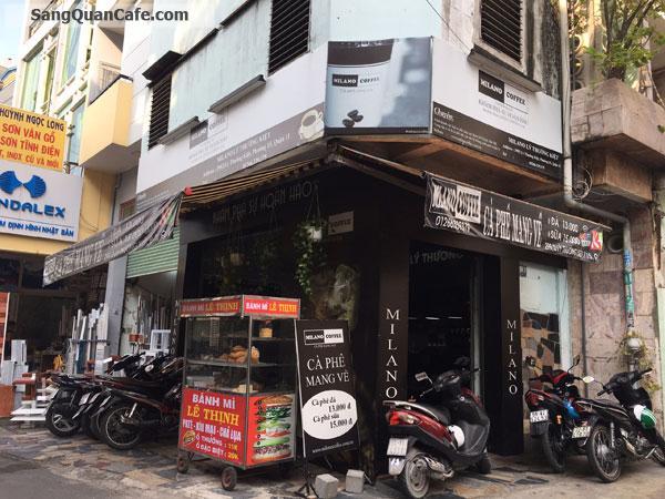 Sang quán cafe MiLano góc 2 mặt tiền Khu Văn Phòng
