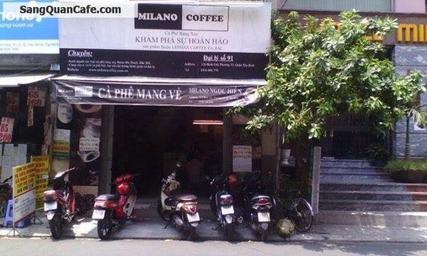 Sang quán cafe Milano quận Tân Bình