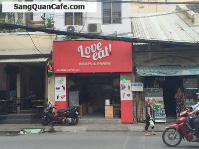 Sang quán cafe mở được 3 tháng quận 1