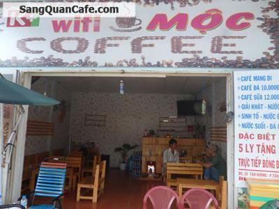 Sang quán cafe Mộc Quận Tân Phú
