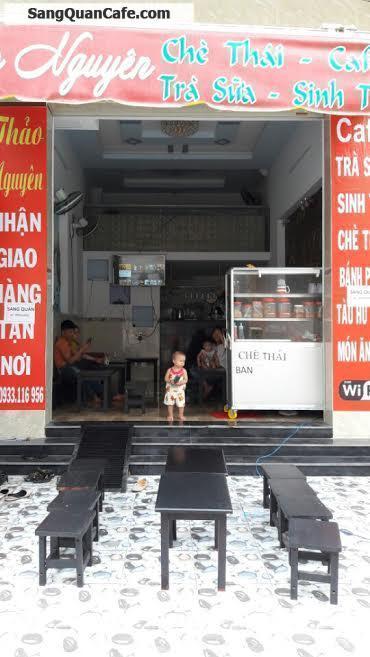 Sang quán cafe MT đường D11 - KDC Viêt Sin, Bình Dương