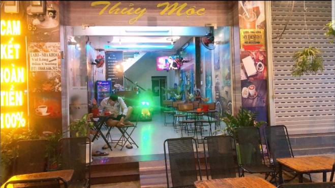 Sang quán cafe mặt tiền KDC Quận 6