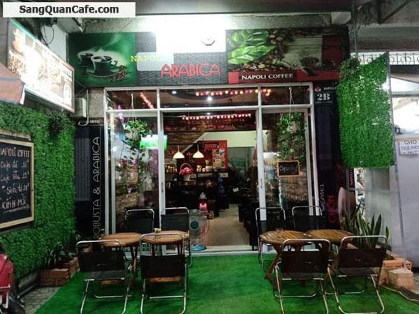 Sang nhượng quán cafe Quận Tân Bình Thương hiệu NAPOLI COFFEE