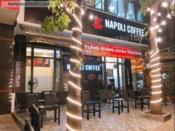 Sang Quán Cafe Napoli đông khách Quận 6