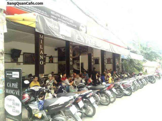 Sang quán cafe Milano đường Quang Trung