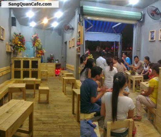 Sang quán cafe Nâu Đen mặt tiền  Nguyễn Thái Sơn