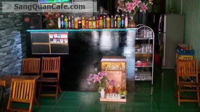 sang quán cafe ngay chợ Gò Xoài quận Bình Tân