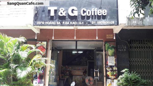Sang quán cafe ngay chung cư nguyễn Đình Chiểu