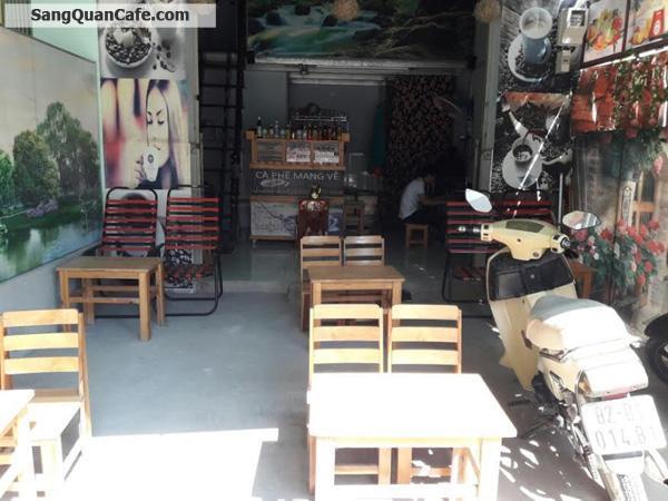 Sang quán cafe ngay chung cư Thạnh Lộc