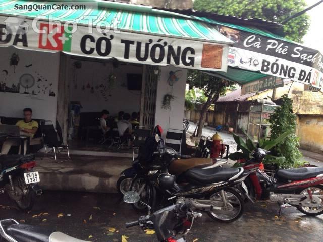 Sang Quán cafe ngay công viên đang kinh doanh Q. Gò Vấp