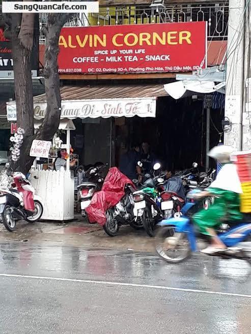 Sang quán cafe ngay nga tư Nam Sanh Bình Dương
