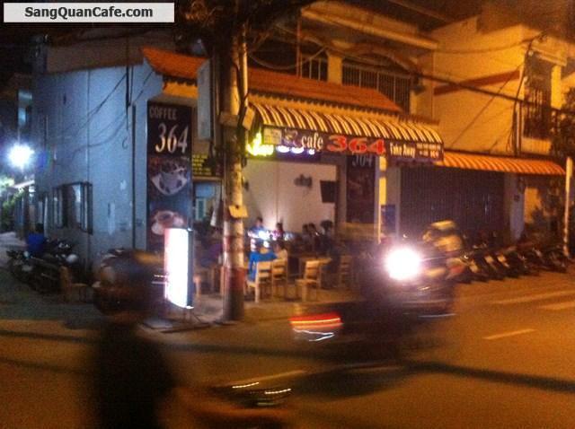Sang quán cafe nguyên căn 2 mặt tiền quận Tân Phú
