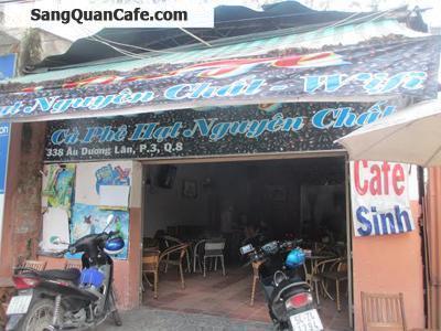 Sang quán Cafe Nguyên Chất quận 8