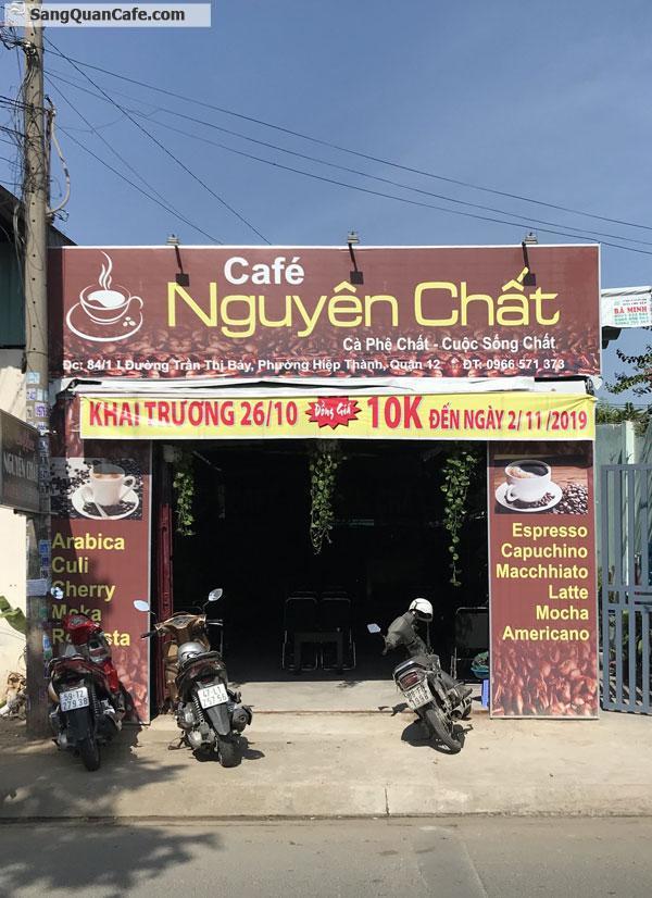 Sang quán cafe nguyên chất rang xay