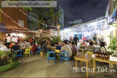 Sang quán cafe nhà hàng sân vườn quận 1