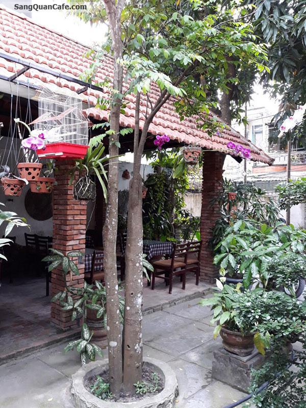 Sang quán cafe nhà và sân vườn 300m2