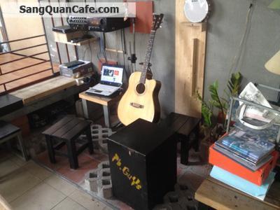 Sang quán Cafe nhạc Acoustic đường Hoàng Hoa Thám