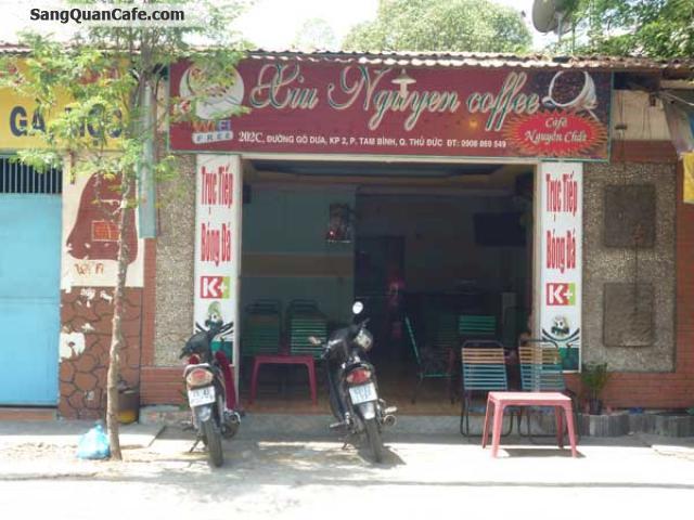 Sang quán cafe nhạc quận Thủ Đức