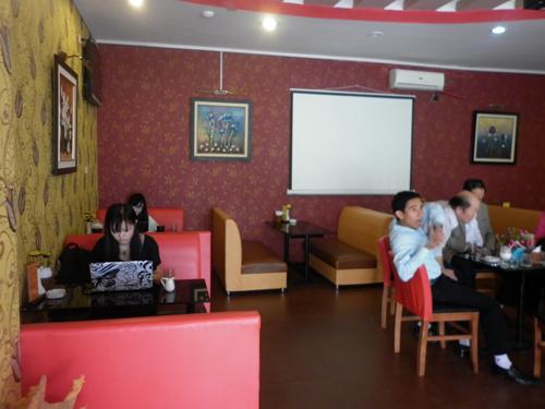 Sang quán café nhạc sống số 9 Thanh  Xuân, Hà Nội