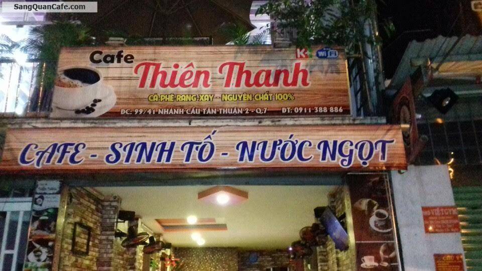 Sang Quán Cafe Nhánh Cầu Tân Thuận 2