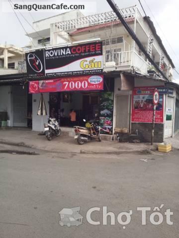 Sang Quán cafe nhượng quyền của Rovina