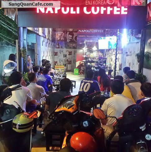 Sang quán cafe nhượng quyền thương hiệu Napoli  Q.Tân Bình.
