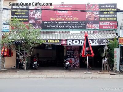 Sang quán cafe, nhượng quyền thương hiệu Romax