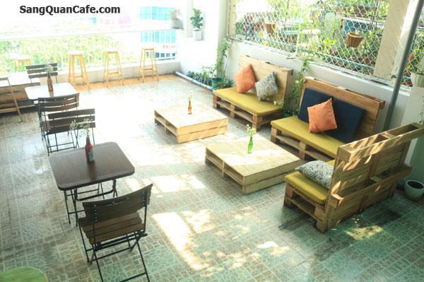 Sang quán cafe, nước ép sân thượng khu dân cư sầm uất