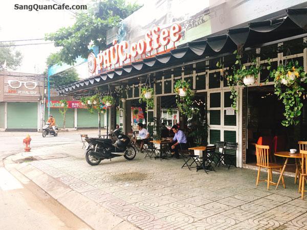 Sang quán cafe pha máy góc 2 mặt tiền đường Vườn Lài, Quận Tân Phú