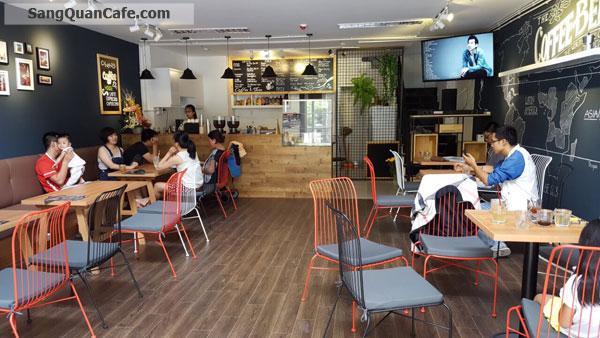 Sang quán cafe pha máy tầng trệt chung cư 8X Plus