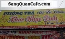 Sang quán cafe Phòng Trà Hóc Môn