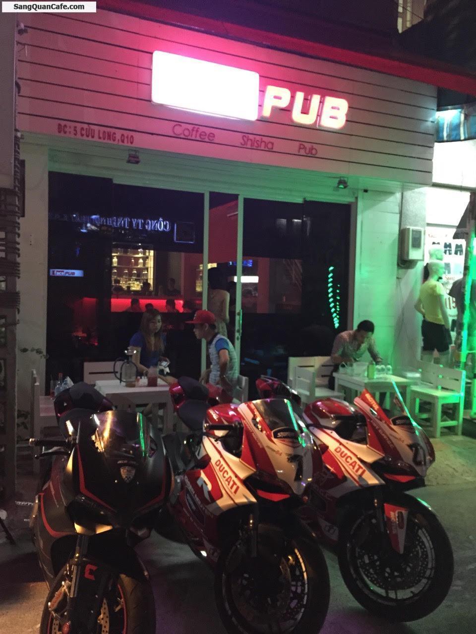 SANG QUÁN CAFE PUB , KHU CƯ XÁ BẮC HẢI , Q.10