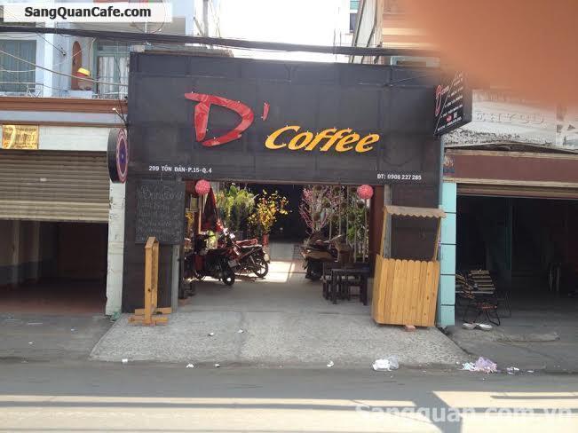 Sang quán cafe quận 4