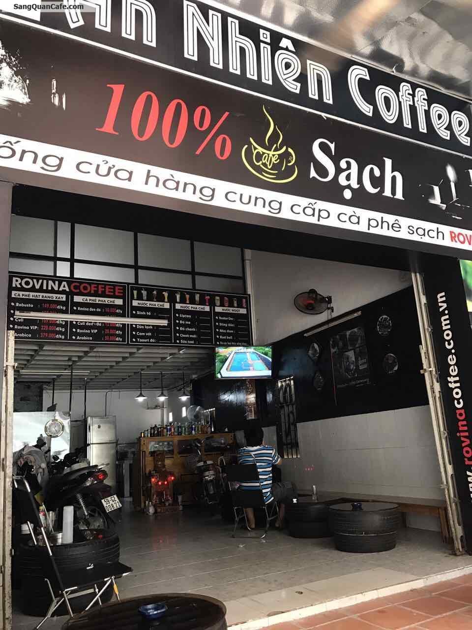 Sang quán cafe quân Gò Vấp