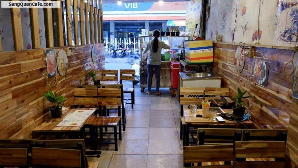 Sang quán trà sữa mặt tiền đường Lê Đức Thọ