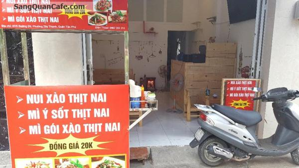 Sang quán Cafe quận tân Phú