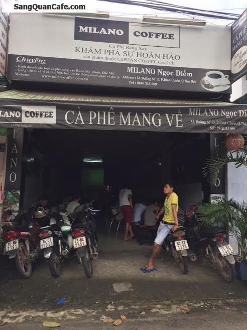 Sang quán cafe quận Thủ Đức