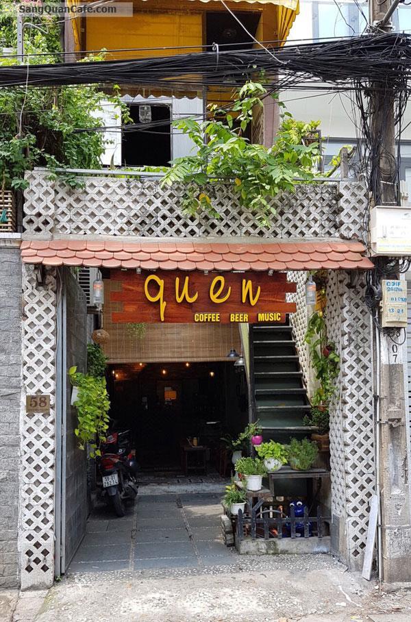Sang quán cafe QUEEN Quận Phú Nhuận