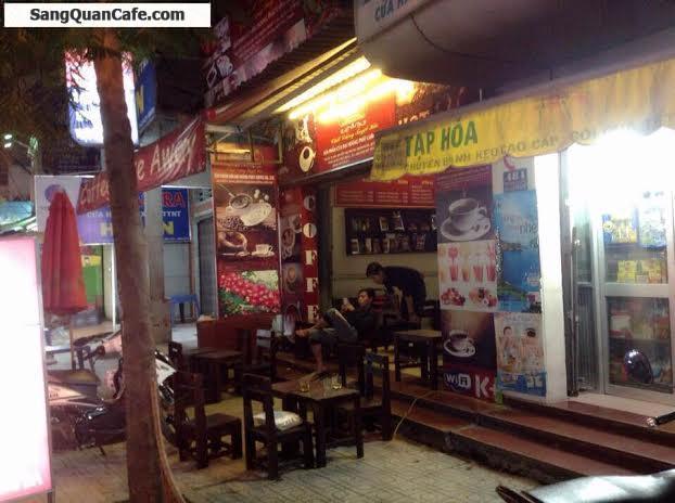 Sang quán cafe rang xay nguyên chất - ghế gỗ