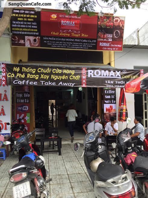 Sang quán cafe rang xay thương hiệu Romax