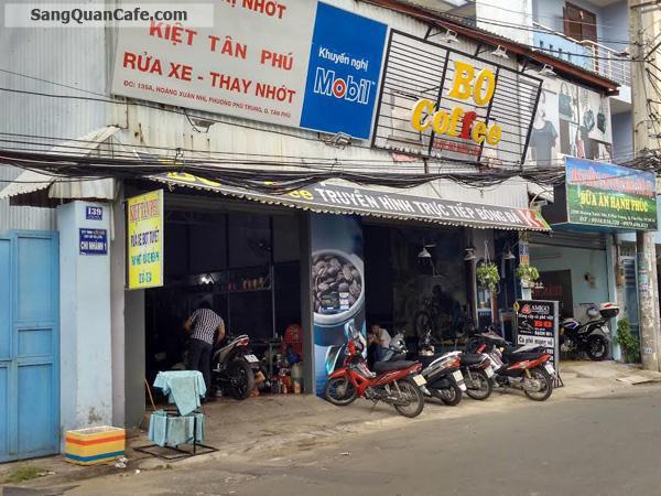 Sang Quán Cafe Rửa xe đường Hoàng Xuân Nhị