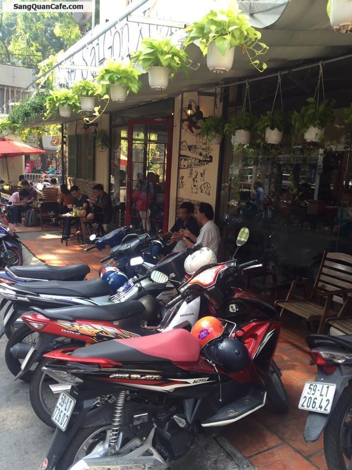 Sang Quán Cafe Sài Gòn Xưa góc 2 mặt tiền