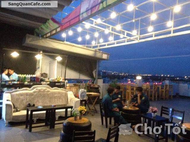 Sang quán cafe sân thượng quận 7