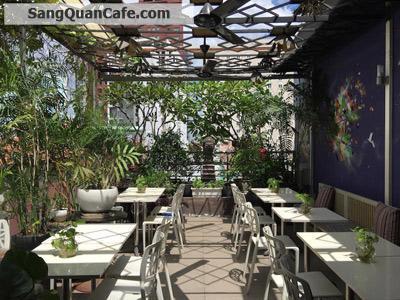 Sang quán cafe sân thượng view sông Sai Gòn
