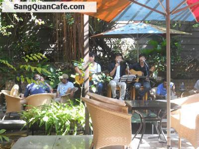 Sang quán cafe sân vườn + Máy lạnh  quận Tân Bình