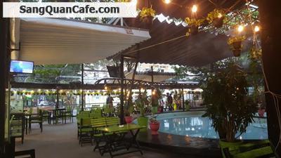 Sang quán cafe sân vườn -máy lạnh - cơm văn phòng khu Bắc Hải